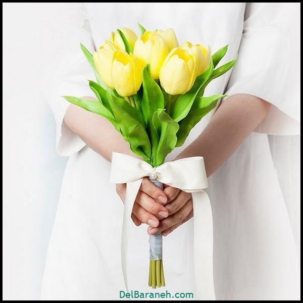 مدل دسته گل عروس (۱۰۴)