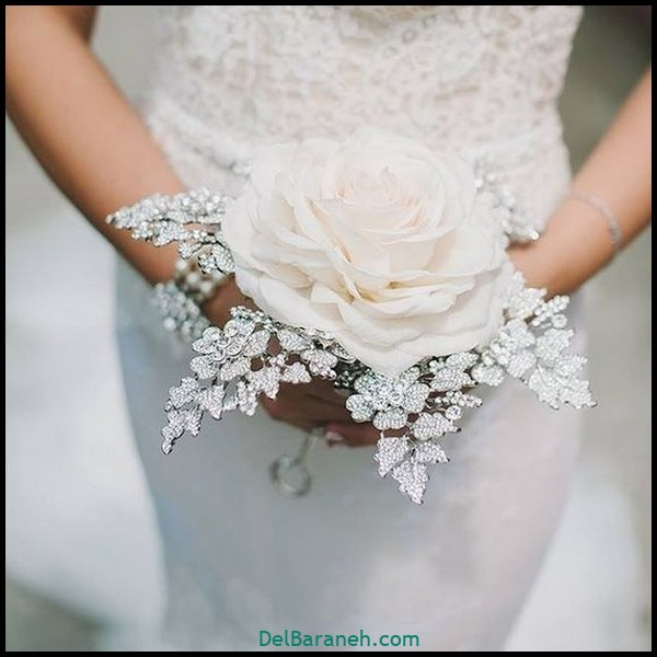 مدل دسته گل عروس (۱۰۵)
