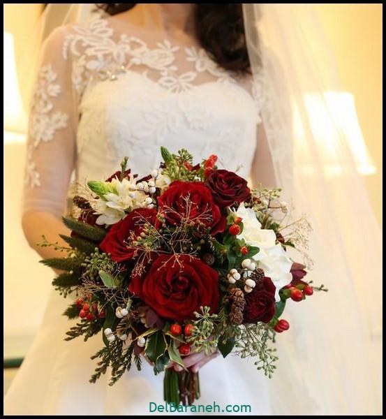 مدل دسته گل عروس (۱۰۷)