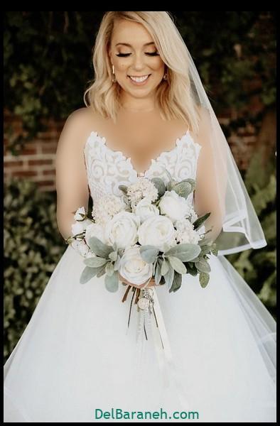 مدل دسته گل عروس (۱۵)