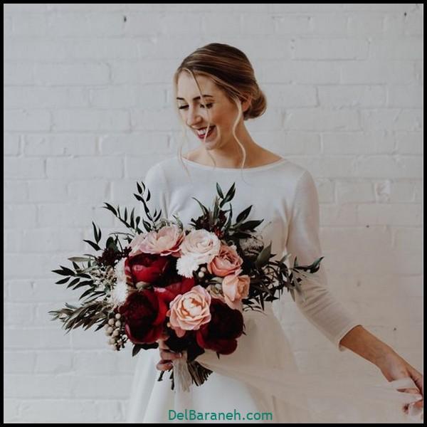 مدل دسته گل عروس (۱۶)