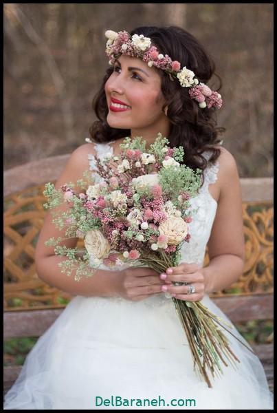 مدل دسته گل عروس (۱۷)