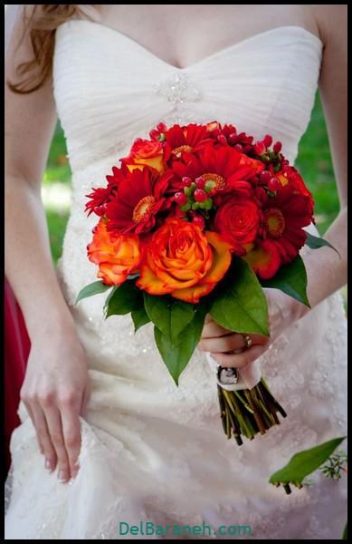 مدل دسته گل عروس (۱۸)