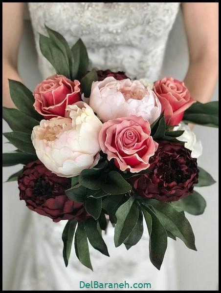 مدل دسته گل عروس (۲۵)