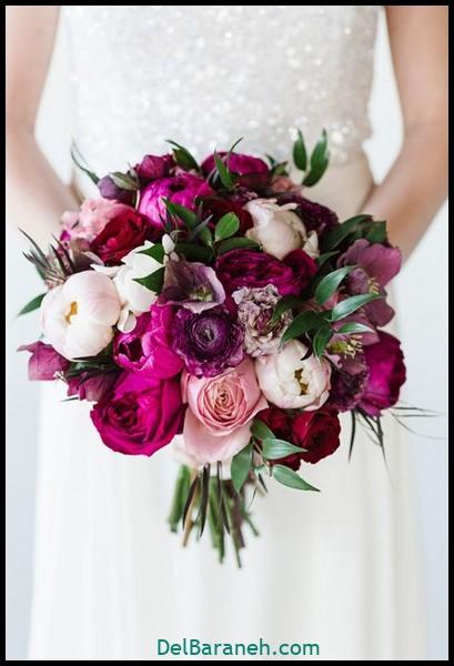 مدل دسته گل عروس (۳)