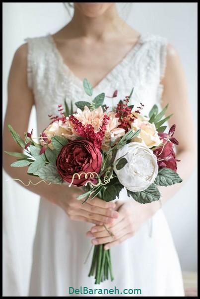 مدل دسته گل عروس (۳۱)