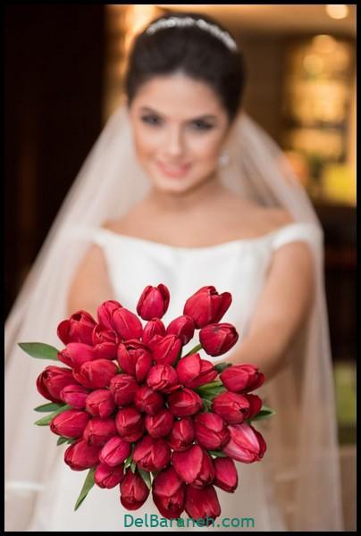 مدل دسته گل عروس (۳۳)