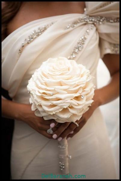 مدل دسته گل عروس (۳۴)