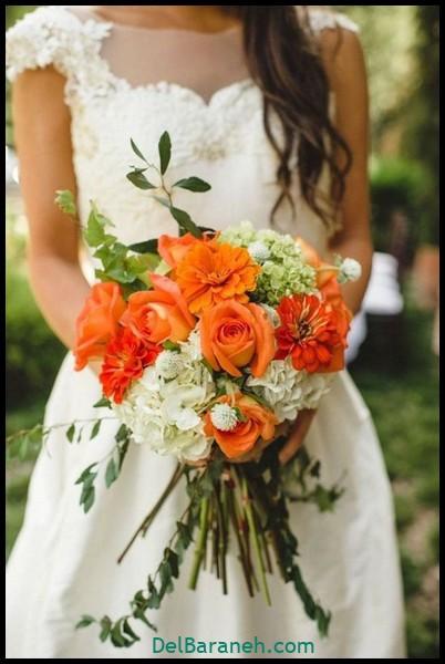 مدل دسته گل عروس (۳۹)