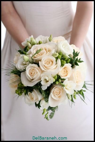 مدل دسته گل عروس (۴)