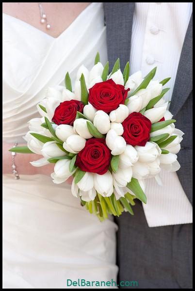 مدل دسته گل عروس (۴۶)