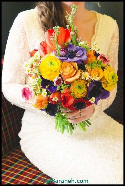 مدل دسته گل عروس (۵۴)