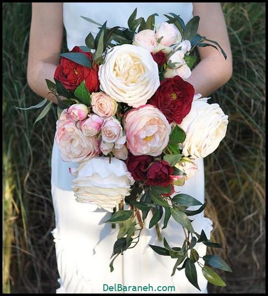 مدل دسته گل عروس (۵۵)