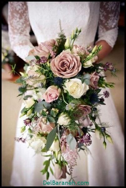 مدل دسته گل عروس (۶)
