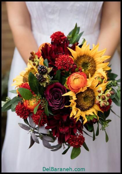 مدل دسته گل عروس (۶۰)