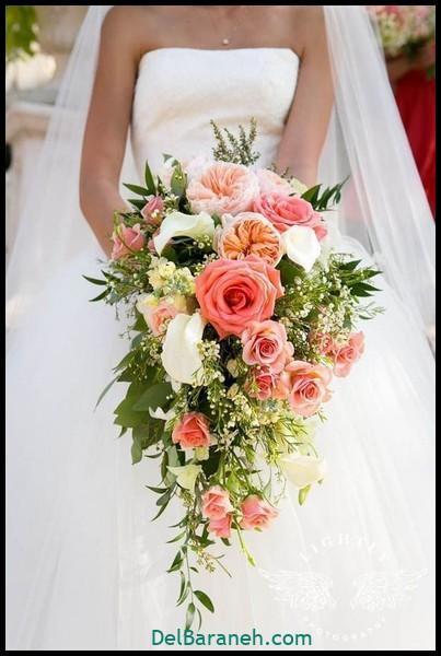 مدل دسته گل عروس (۶۳)
