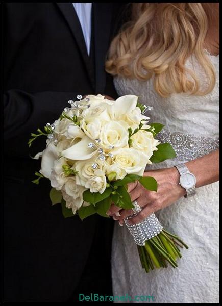 مدل دسته گل عروس (۶۶)