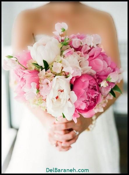 مدل دسته گل عروس (۷)