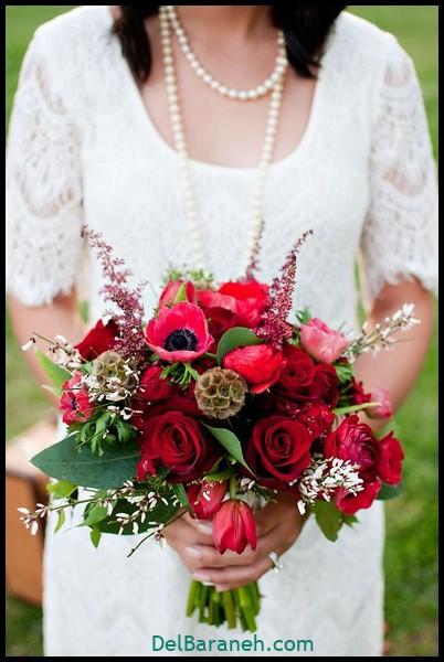 مدل دسته گل عروس (۷۵)