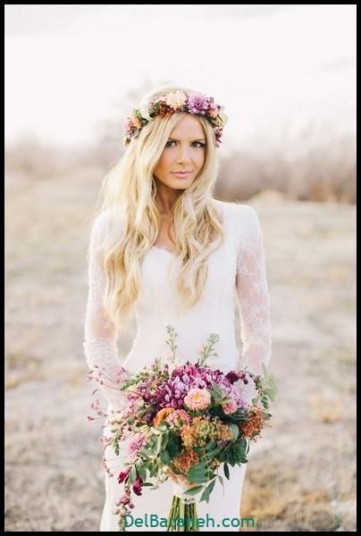 مدل دسته گل عروس (۷۶)