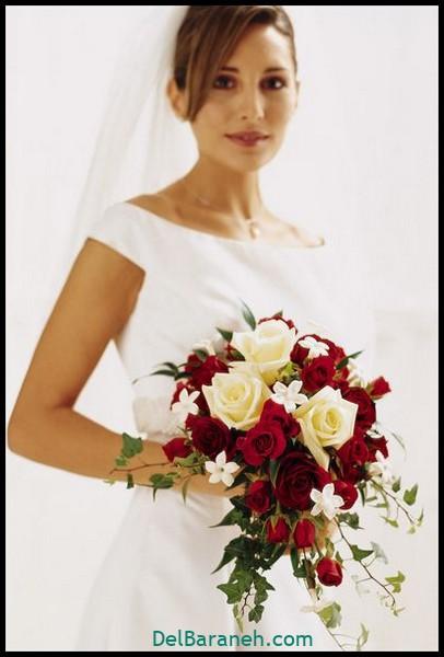 مدل دسته گل عروس (۸۵)