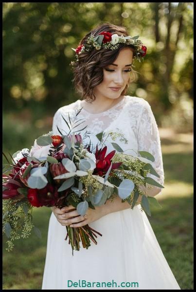 مدل دسته گل عروس (۸۸)