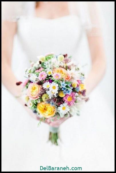 مدل دسته گل عروس (۹)