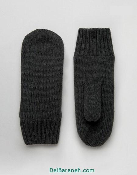مدل دستکش بافتنی و چرم (18)