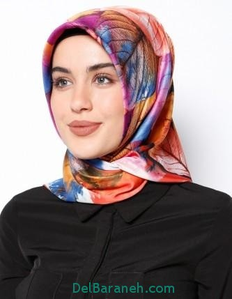 مدل شال و روسری زنانه و دخترانه (12)