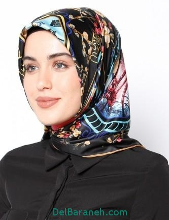 مدل شال و روسری زنانه و دخترانه (14)