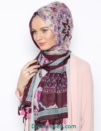 مدل شال و روسری زنانه و دخترانه (5)