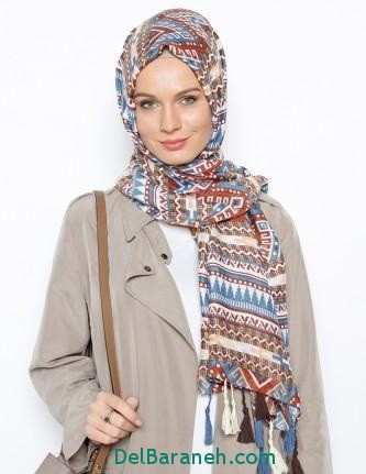 مدل شال و روسری زنانه و دخترانه (6)