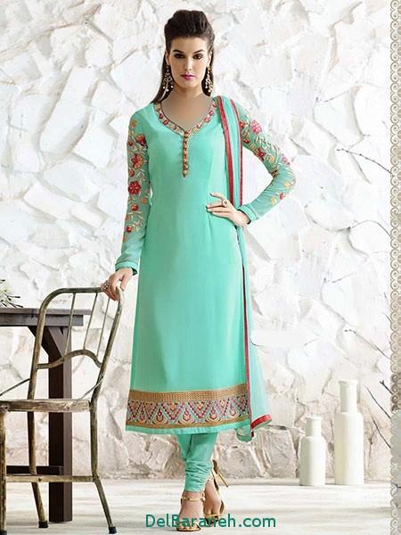 مدل لباس هندی مجلسی (1)