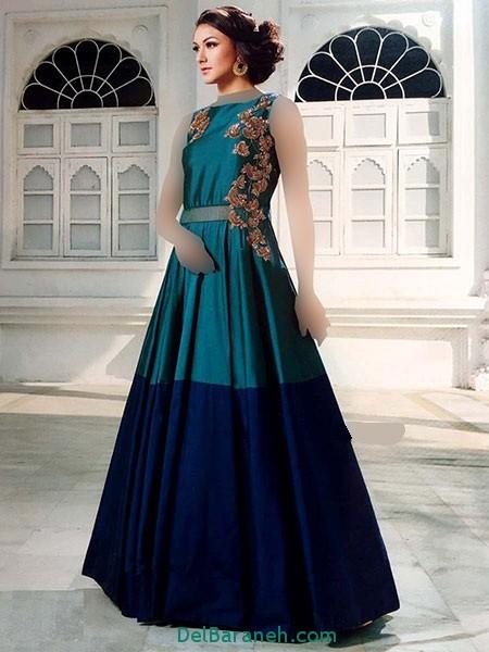 مدل لباس هندی مجلسی (13)