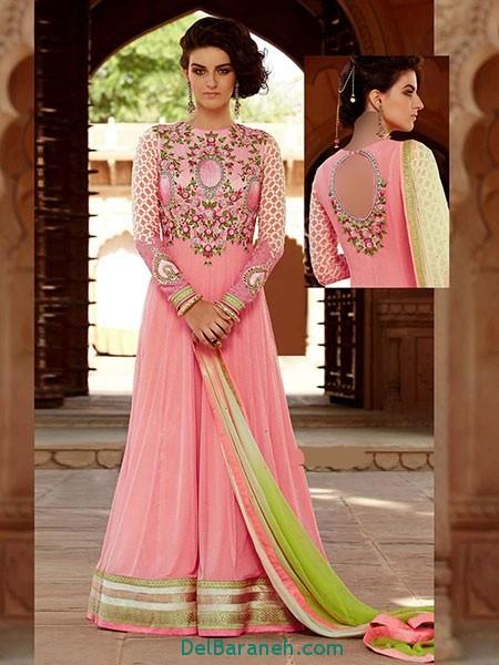 مدل لباس هندی مجلسی (17)