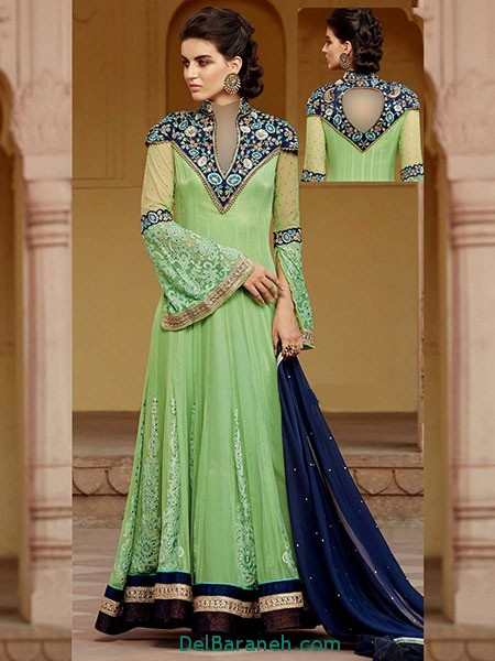 مدل لباس هندی مجلسی (18)