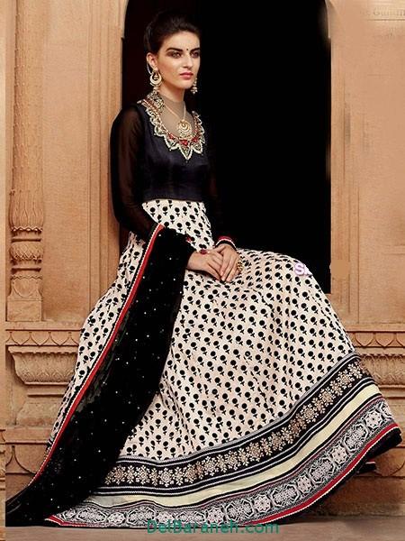 مدل لباس هندی مجلسی (20)