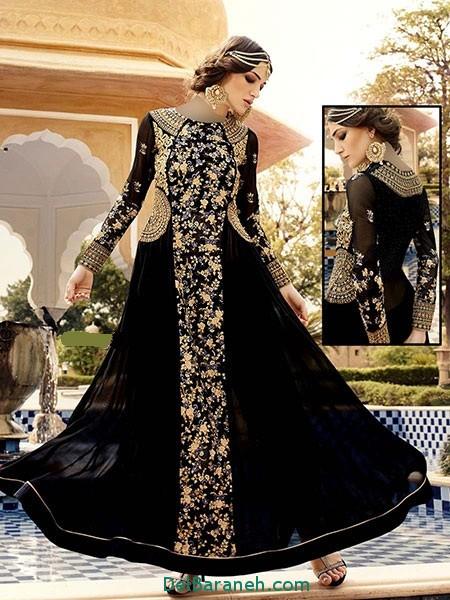 مدل لباس هندی مجلسی (21)