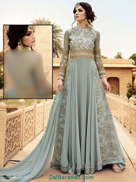 مدل لباس هندی مجلسی (24)
