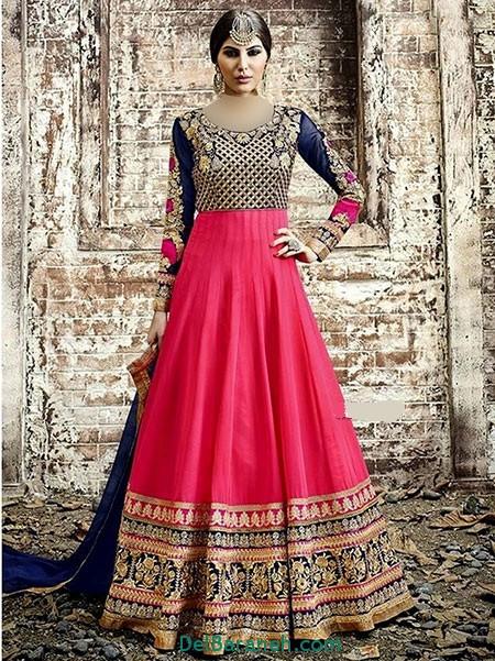 مدل لباس هندی مجلسی (7)