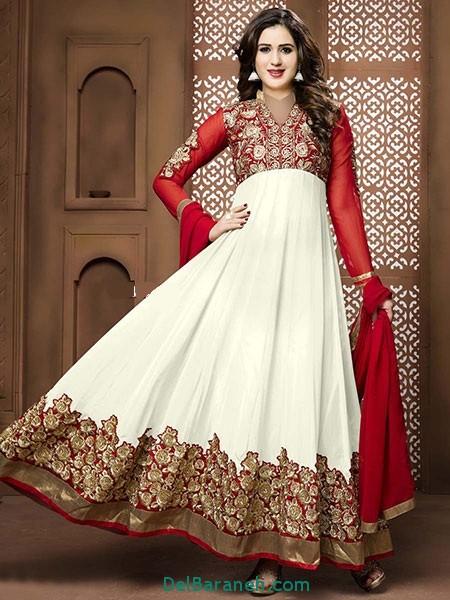 مدل لباس هندی مجلسی (8)