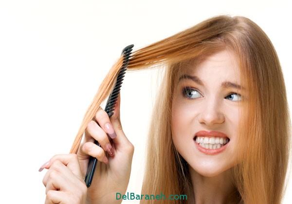 نازک شدن مو,سلامت پوست و مو,
