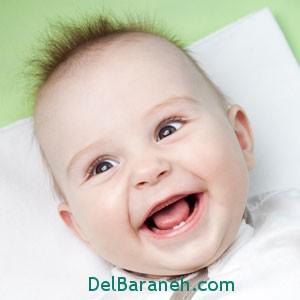 نشانه های دندان درآوردن کودکان
