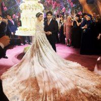 مراسم عروسی گرانقیمت دختر سرمایه دار روسی