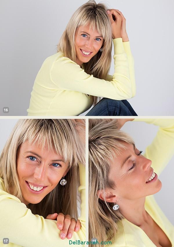 ژست عکاسی برای خانم ها
