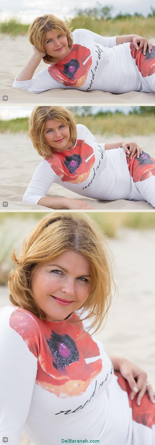 بهترین ژست های عکاسی برای خانم ها