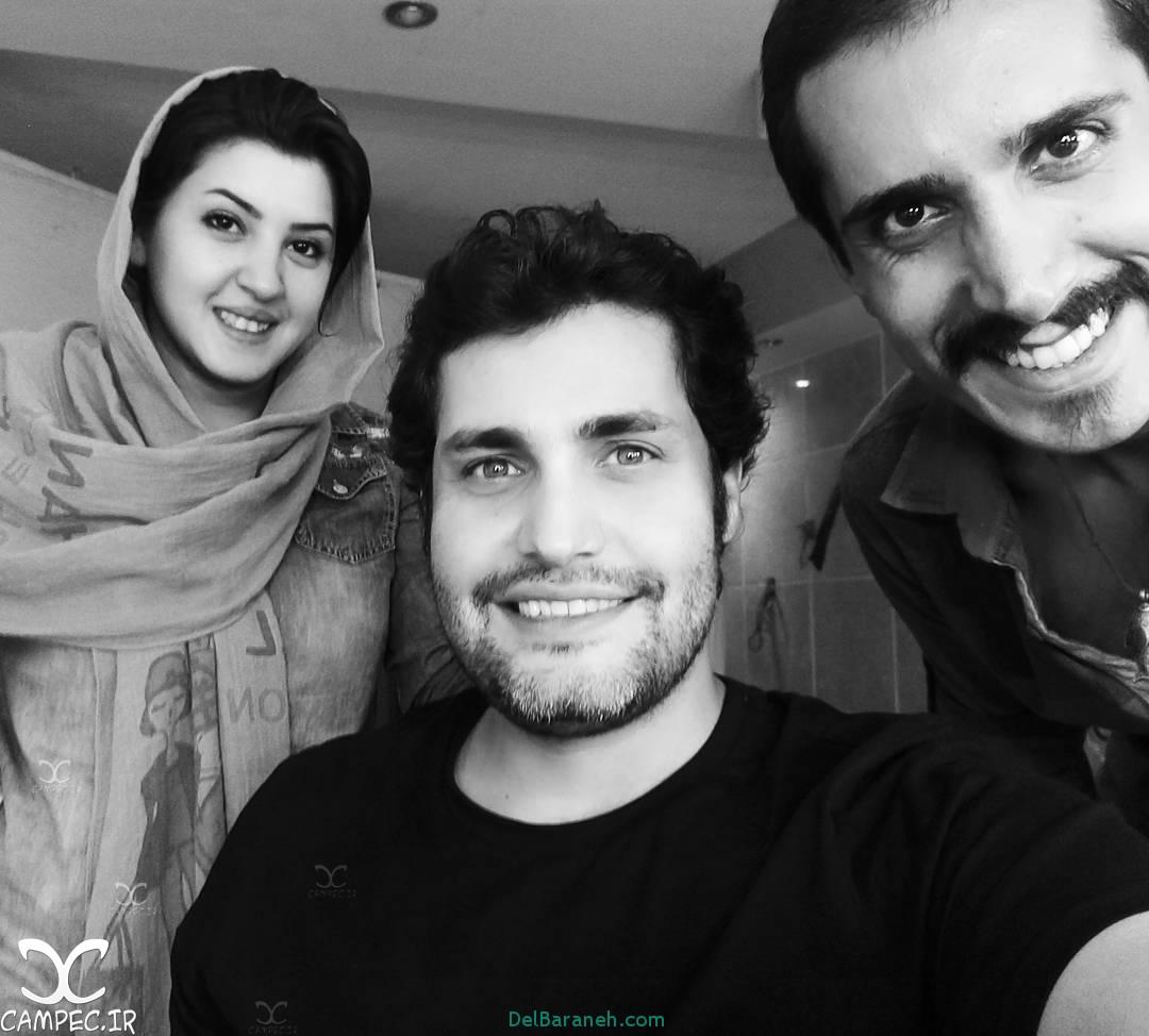امیرمحمد زند در پشت صحنه سریال ماه و پلنگ