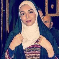 آزاده نامداری عکس دخترش گندم را در پیجش منتشر کرد
