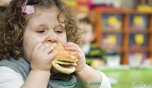 از چاقی کودک خوشحال نشوید (2)