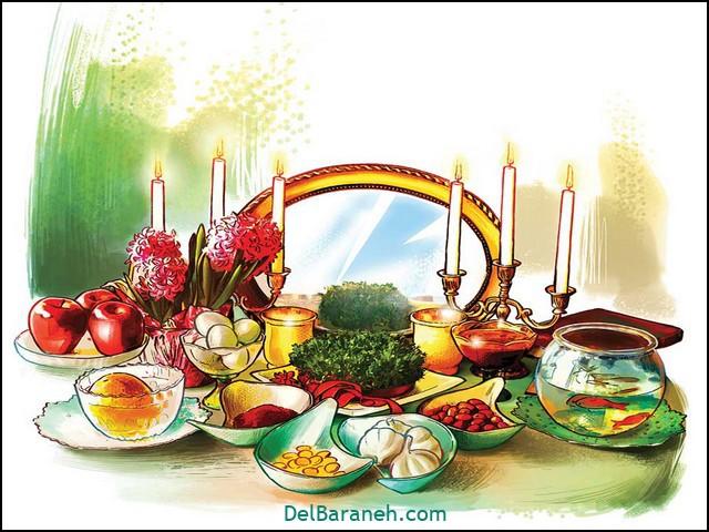 انشا در مورد تعطیلات عید نوروز را چگونه گذراندید (۲)